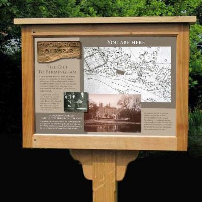 Oak Notice Boards Memorial Benches Lovingly Made In