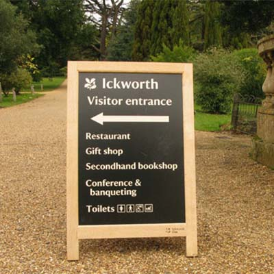 800 Ickworth A-Board
