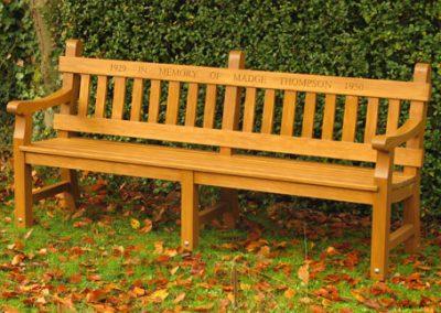 HUNSTANTON-bench