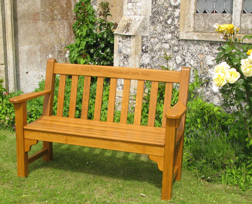 Memorial Benches Harry Stebbing Workshop