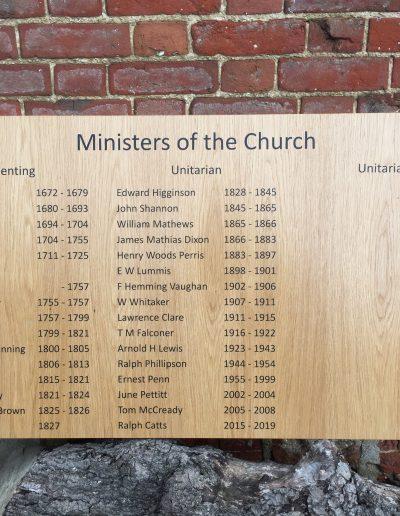Oak Honours Board- Basic